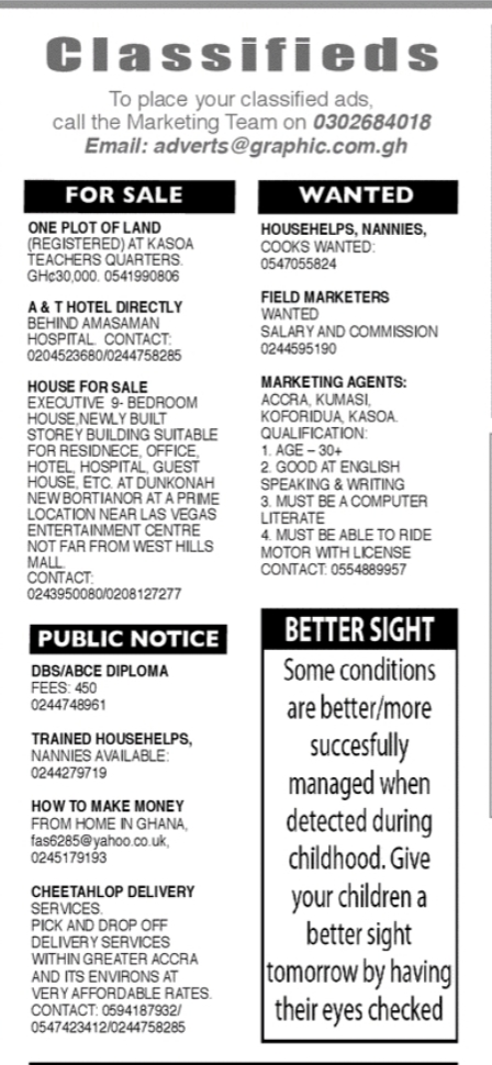 Tuesday, 28th July: Advertised jobs in today's newspapers 4