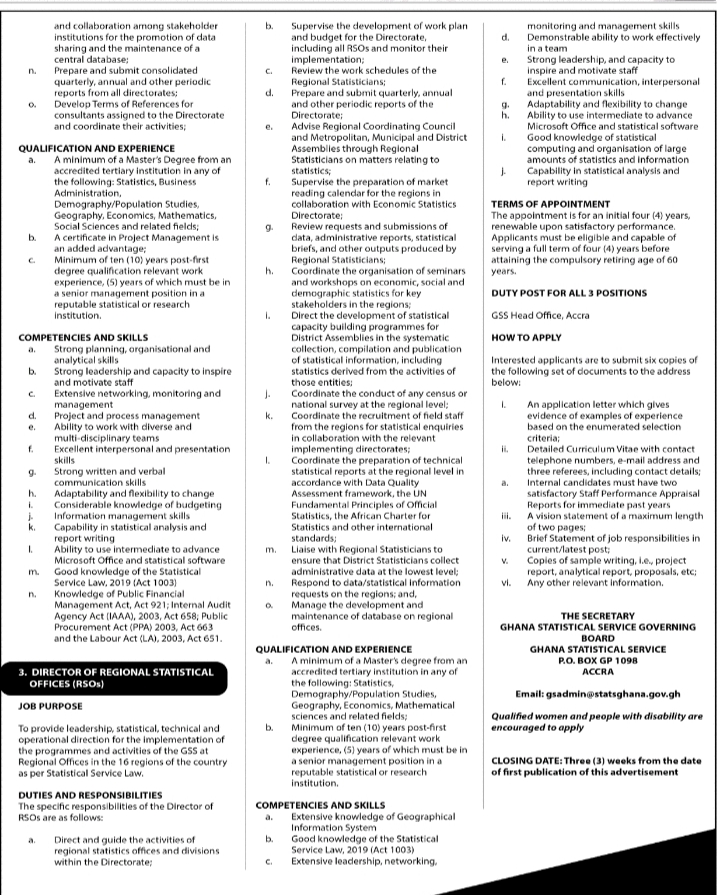 Tuesday, 28th July: Advertised jobs in today's newspapers 7