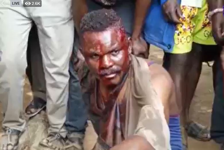 BREAKING NEWS: Two Soldiers Beaten to Near Death At Kasoa -WATCH VIDEO