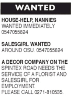 Friday, 4th September 2020: Advertised jobs in today's newspapers 8
