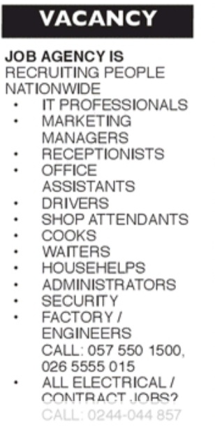 Friday, 4th September 2020: Advertised jobs in today's newspapers 9