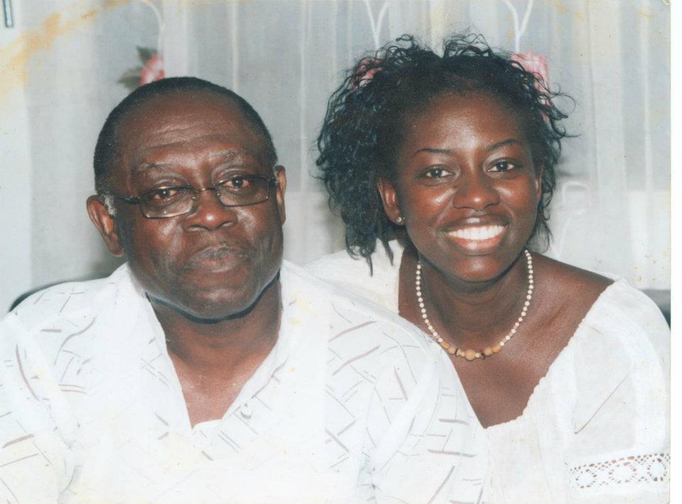 Kwamena Bartels and Sheila Bartels Sam